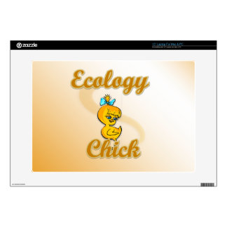 Ecology Chick Decal For Laptop