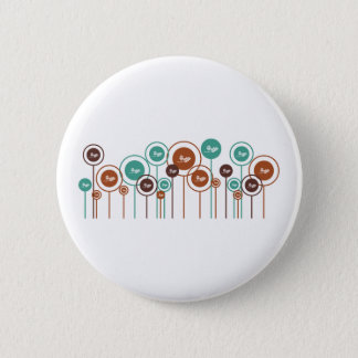 Ecology Daisies Button