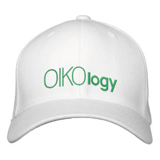 ecology embroidered baseball cap