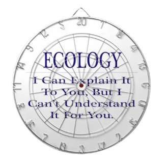 Ecology .. Explain Not Understand Dartboard With Darts