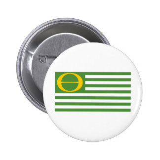 Ecology Flag Pinback Button