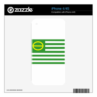 Ecology Flag Skins For iPhone 4S