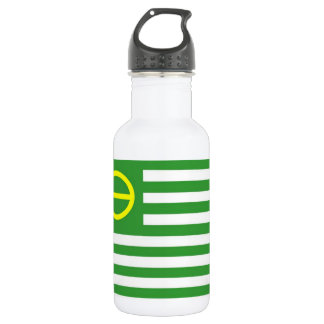Ecology Flag Stainless Steel Water Bottle