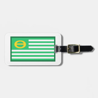 Ecology Flag Tag For Luggage