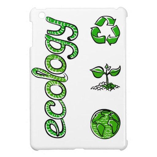 Ecology Green Saving the World iPad Mini Covers