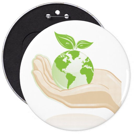 Ecology : Mother earth - Pinback Button