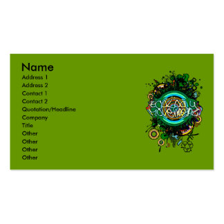 Ecology_Movement Double-Sided Standard Business Cards (Pack Of 100)