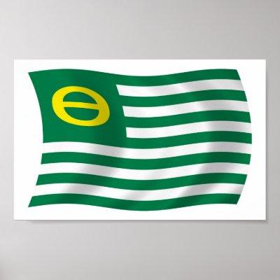 Impresión del cartel de la bandera del movimiento impresiones de ...