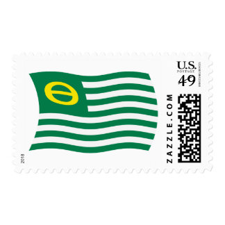 Ecology Movement Flag Stamps