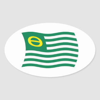 Ecology Movement Flag Sticker