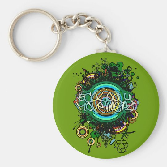 Ecology_Movement Keychain
