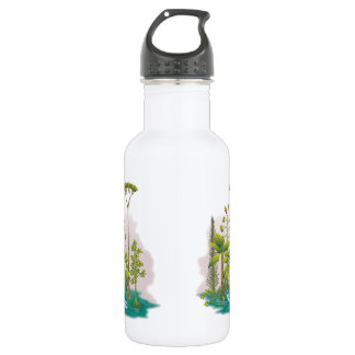 Ecology : plant a tree - 18oz water bottle