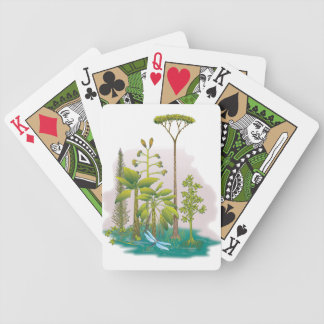 Ecology : plant a tree - bicycle playing cards