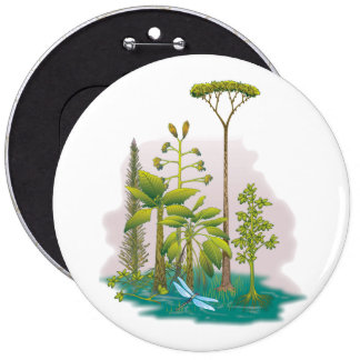 Ecology : plant a tree - pinback button