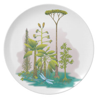 Ecology : plant a tree - party plates