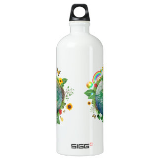Ecology : recycle - water bottle