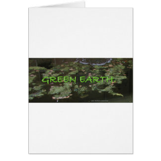 ECOLOGY SAVE OUR PLANET GREETING CARD