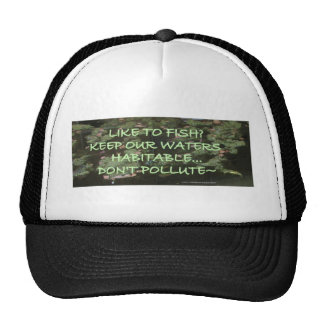 ECOLOGY SAVE OUR PLANET TRUCKER HAT