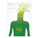 Ecology Save the Date Personalized Invitation