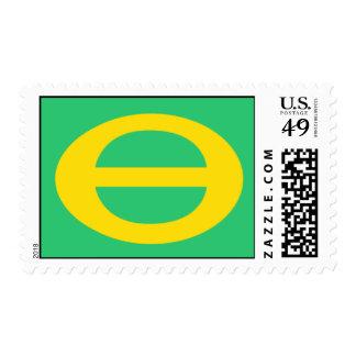 Ecology Symbol Med. Postage Stamp