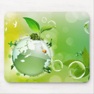 Ecology : the earth is our house - mousepads