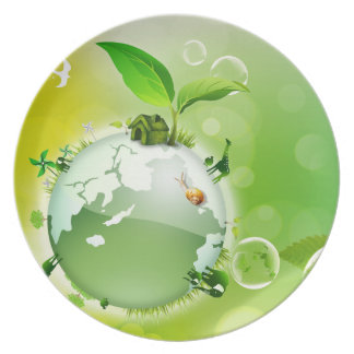 Ecology : the earth is our house - plates