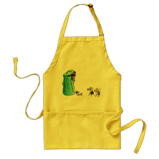Ecology : the solution for waste - adult apron