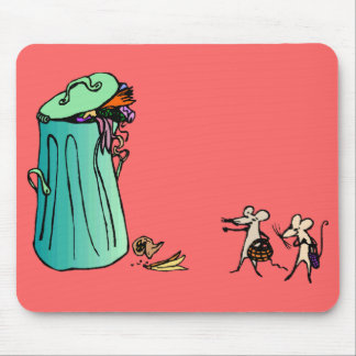 Ecology : the solution for waste - mousepad