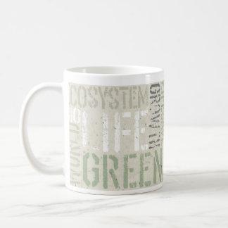 Ecology Words Basic White Mug