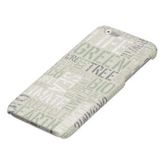 Ecology Words Matte iPhone 6 Case