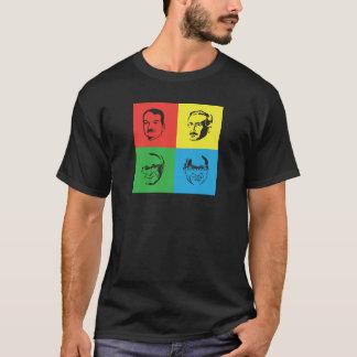 Econ Heads - Mises, Hayek, Rothbard, Friedman T-Shirt