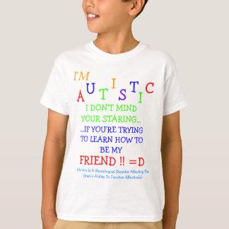 Econo~Autistic Friendz~Staring Into Understanding! T-Shirt