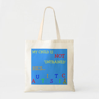Econo-Designed - Autism Aware Boy's Diaper Tote! Tote Bag