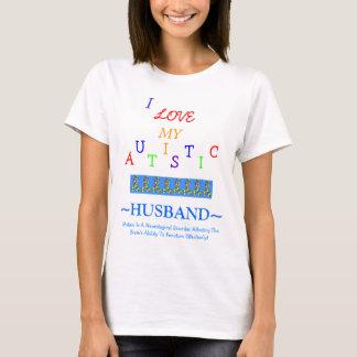 Econo-Designed - Wive's Autistic Love~Husband! T-Shirt