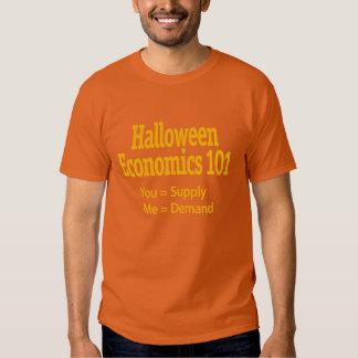Economía 101 de Halloween Playera