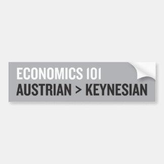 Economía Etiqueta De Parachoque