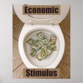 Economía de Anti-Keynes Póster