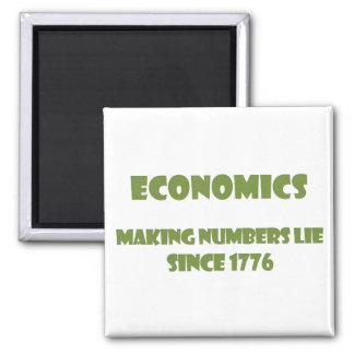 Economía: haciendo números mienta desde 1776 imán cuadrado