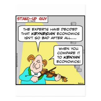 economía keynesiana obama del kenyan postal