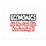 Economía… todos los niños frescos tarjetas postales