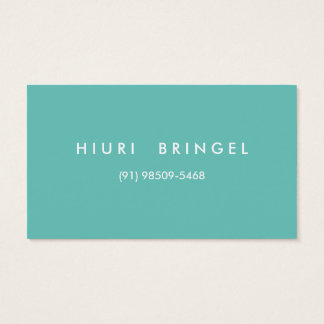 ECONOMIC BUSINESS CARD