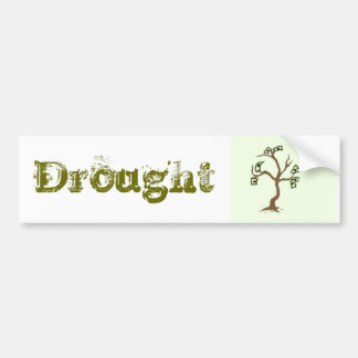 Economic Drought Sticker