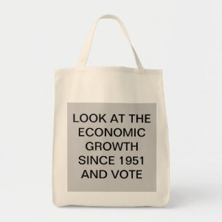 ECONOMIC GROWTH TOTE BAG