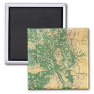 Economic Map of Colorado Magnet