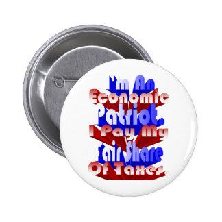 Economic Patriot Pinback Buttons