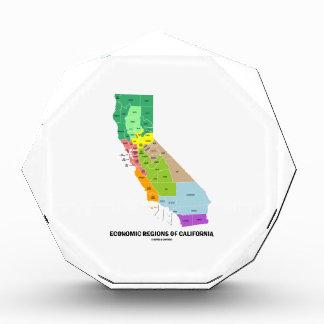 Economic Regions Of California (Map) Award
