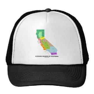 Economic Regions Of California (Map) Trucker Hat