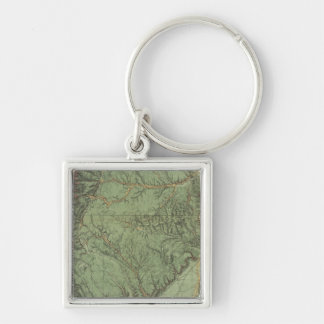 Economical Features of Colorado and New Mexico Keychain