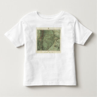 Economical Features of Colorado and New Mexico Toddler T-shirt