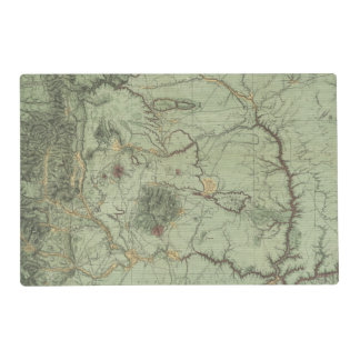 Economical Features of New Mexico Placemat